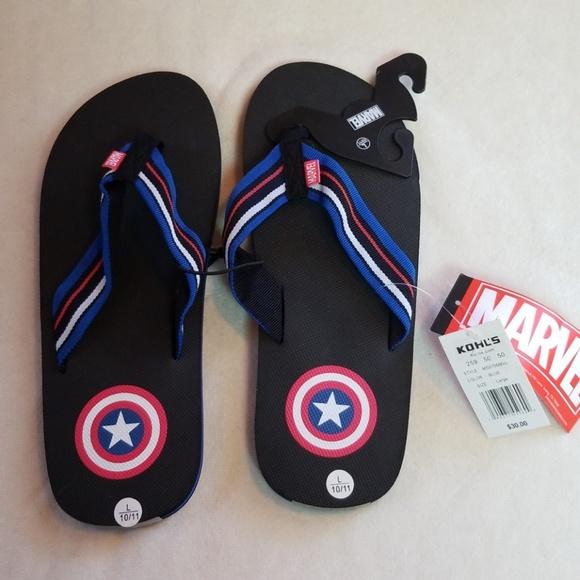 c2021b675a7f Captain America flipflops